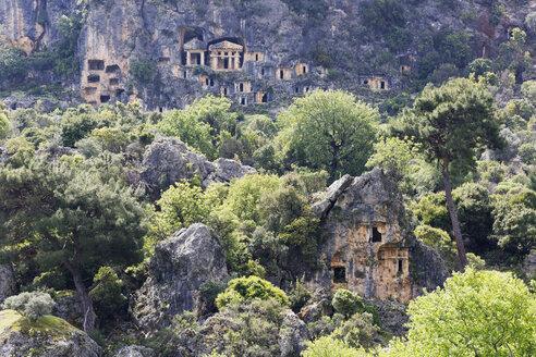 Turkey, Aegean, Necropolis of Pinara in Xanthos Valles - SIE004349