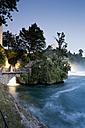 Switzerland, Schaffhausen, View of Rhinefall at Schaffhausen - MS002979