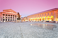 Germany, Bavaria, Munich, National Theatre and Palais an der Oper - MSF002987