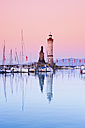 Germany, Bavaria, View of lighthouse at Lindau - MS003007