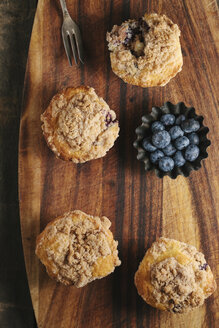 Blueberry muffins with crumble - EC000322