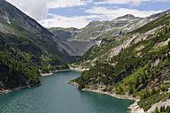 Austria, Carinthia, Upper Tauern, Maltatal,Galgenbichl impounding reservoir and Koelnbreinsperre - SIEF004373