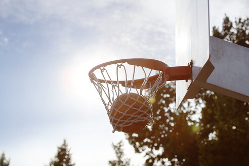 Ball in basketball hoop - FEXF000043