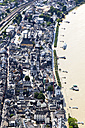 Germany, Rhineland-Palatinate, High water of River Rhine at Boppard, aerial photo - CSF019988