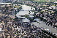 Germany, Rhineland-Palatinate, Koblenz, Bridges above Moselle, aerial photo - CSF019996