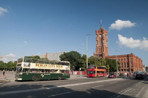 Germany, Berlin, Rotes Rathaus - BFR000303