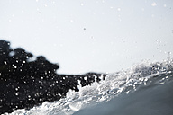 Croatia, Mediterranean Sea, ocean, water splash - FMKF000912