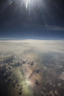 Cloudscape and sunshine above the Mediterranean Sea - STB000063