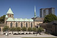 Germany, North Rhine Westphalia, Essen, view to Essen Minster - WI000117