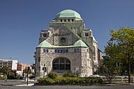 Germany, North Rhine Westphalia, Essen, view to synagogue - WI000121