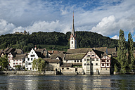 Switzerland, Canton Schaffhausen, old town of Stein am Rhein - EL000495