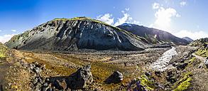 Iceland, Sudurland, Landmannalauger, Volcanic highland - STSF000176