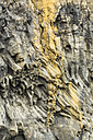 Iceland, Sudurland, Close up of cliff near Vik - STS000164