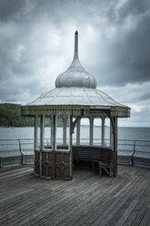 Great Britain, Wales, Gwynedd, Bangor, Pier - ELF000518