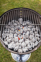 Charcoal grill, close-up - KJF000269