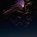 Fireworks exploding in the sky at night - KJF000277