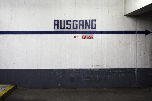 Germany, Offenbach, Underground car park - TLF000712