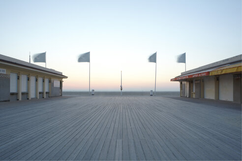 France, Normandy, Deauville, Boardwalk - TL000734