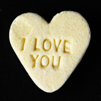 I love you on candy heart - TLF000727