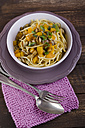 Fried noodles with bell pepper and mushrooms - ODF000596