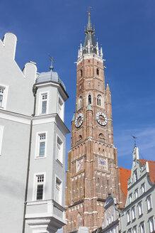 Germany, Bavaria, Landshut, St Martin's Church, tower - AMF001026