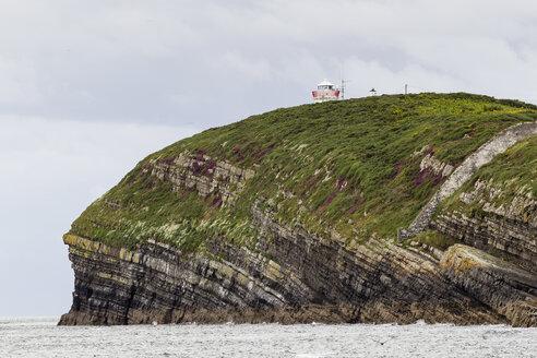 Irland, County Clare, Coastal landscape at the river Shannon estuary - SRF000351
