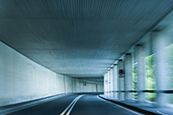 Germany, Bavaria, Galeria am Welchensee, road tunnel - TCF003621