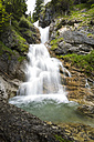 Germany, Bavaria, View of waterfall at Zipfelsbach - STSF000194
