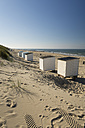 Netherlands, Holland, Zeeland district, beachhuts at Domburg - MYF000055
