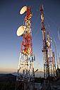 Indonesia, Java, Antenna mast - MBE000807