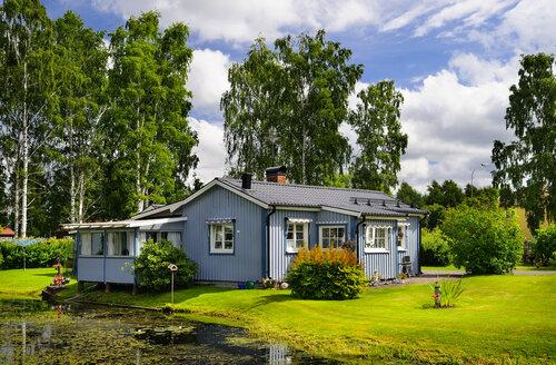 Sweden, Smaland, Kalmar laen, Vimmerby, residential house - BT000012