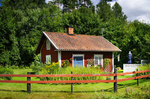 Sweden, Smaland, Kalmar laen, Vimmerby, summerhouse - BT000014