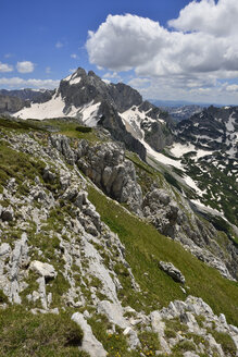 Montenegro, Durmitor National Park, View from Planinica towards Bobotov Kuk - ES000680