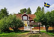 Sweden, Smaland, Gibberyd, Katthult farm, shooting location Astrid Lindgren films Emil of Loenneberga - BT000061