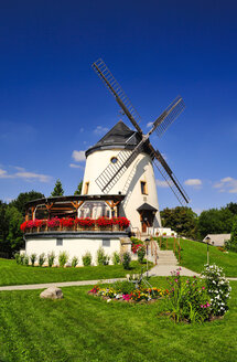 Germany, Saxony, Dresden, district Cotta, Leutewitz wind mill - BT000174
