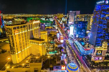 USA, Nevada, Las Vegas at night - ABA001042