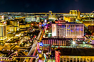 USA, Nevada, Las Vegas at night - ABAF001040
