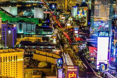 USA, Nevada, Las Vegas at night - ABA001037