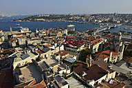 Turkey, Istanbul, view from Galata Tower over Golden Horn and Bosphorus - ES000688