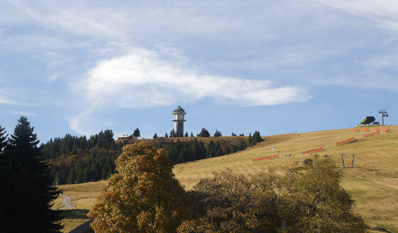 Germany, Baden-Wuerttemberg, Black Forest, Feldberg Tower on Seebuck - DHL000118