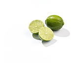 Sliced and whole lime - SRSF000285