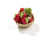 Little basket with strawberries (Fragaria) - SRSF000271