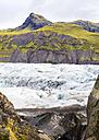 Iceland, Sudurland, some hikers on the Svinafellsjoekull - STSF000207