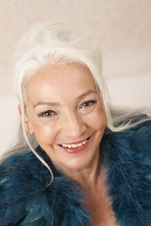 Germany, Dusseldorf, Senior woman , portrait - UKF000237