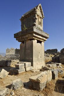 Turkey, Lycia, lycian sarcophagus, archaeological site of Xanthos - ES000715