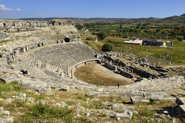 Turkey, Aydin Province, Caria, antique roman theater, archaeological site of Miletus - ES000709