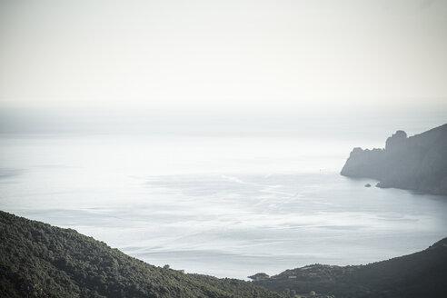 France, Corsica, Corse-du-Sud, Golfe de Girolata, Ligurian Sea - SBDF000323