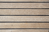 Italy, Sardinia, Planks of yacht deck - PDF000584