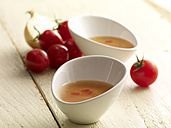 Tomato consomme in bow, - SRSF000355