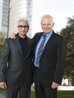 Portrait of two business partners - STKF000520